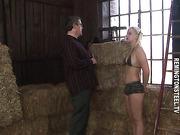 Punished on hay