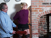 Cunt and ass punished