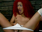 Daisy Ducati's Initiation: Fear of Whipping Tried and Tested