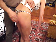 Vicky getting spanked