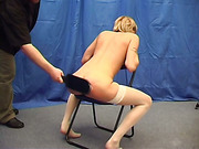 Fay - Spanking Experience with Paddle