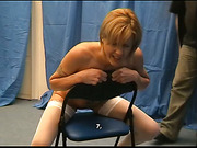 Spanking Experience with Paddle
