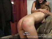 Jessica & Bianca spanked