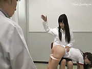Spanking assistant - school doctor edition