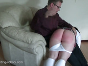 Spanking The Laziness Out Of Her