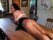 Horny Wife gets Spanked