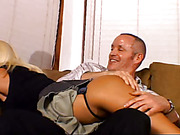 Wife acquires Her Bottom Spanked