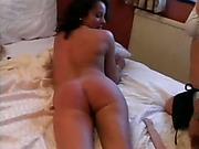 Lesbo milf spanking