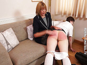 This is a nasty, vindictive and very hard spanking