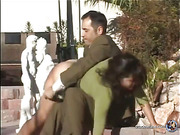 Samantha Woodley - Outdoor Spanking