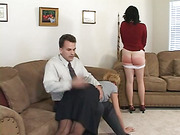 Miss Clair is Spanked