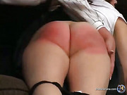 Jenni - Uniform Spanking