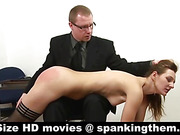 Hair-pulling and OTK spanking