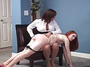 She Spanked Her Niece