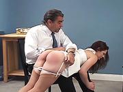 Ten Amorette strictly spanked