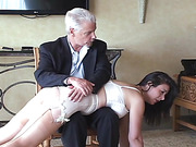 Spanked for Twerking
