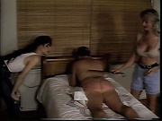 Bob spanks Jennifer