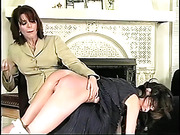 The girls spanked