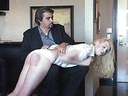 Ralph spanks Amelia Rutherford - 1