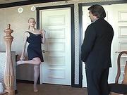 Ralph spanks Amelia Rutherford - 2