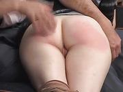 Butch spanks Leela