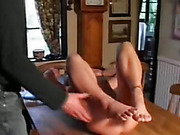 Naughty Wife Spanked
