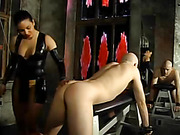 Asian Babe Spanks Her Partner