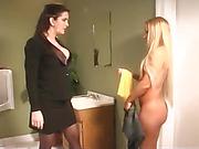 Naked Blonde Spanked Raw