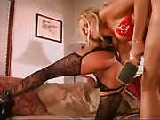 Lesbians Having Spanking Sex