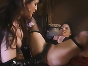Lesbians Gets Off on Spanking