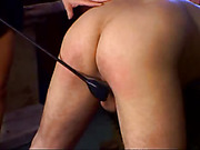 Wife Spanking Her Man