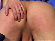 Wife Spanking Her Man