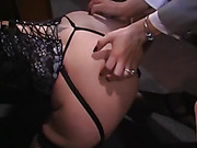 Submissive Lesbian Spanked