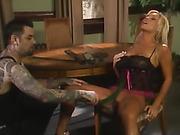 Pornstar Ashton Moore Spanked