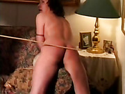 Slutty Wife Gets Caning