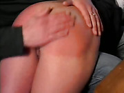 Wife Gets Red Hot Spanking