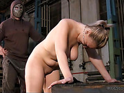 Tess invited to a hard back and ass whipping.