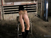 Paola got hard spanked and harsh back whipping!