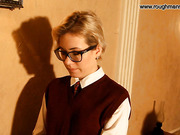 Bad blonde girl