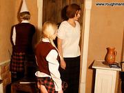 Schoolgirl afraids