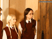 Two bad schoolgirls