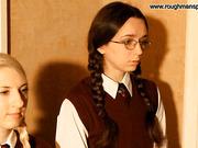Two bad schoolgirls
