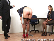 Humiliating and painful lesbian discipline lesson