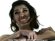 Kelsey Wilde strapped 74 strokes