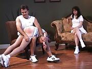 Steve fuller spanks Traci Greer