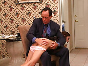 Eva Lux 1st spanking