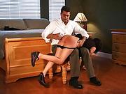 Ralph Marvell spanks Samantha