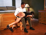 Ralph Marvell spanks Samantha
