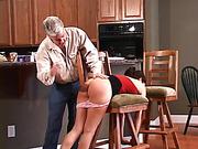 Keith spanks Samantha