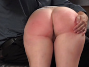 Nikki Gets Spanked, Violet enjoys the show